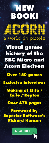 Acorn - A World In Pixels book available now