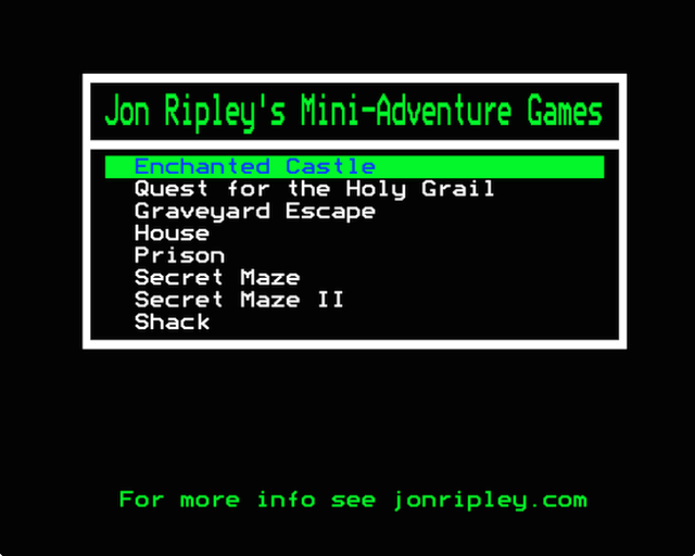 gameimg/screenshots/2344/Disc999-JonRipleyMiniAdventureGames-.png