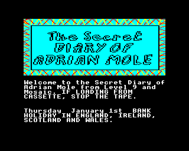 gameimg/screenshots/DISC112-SecretDiaryOfAdrianMole.png
