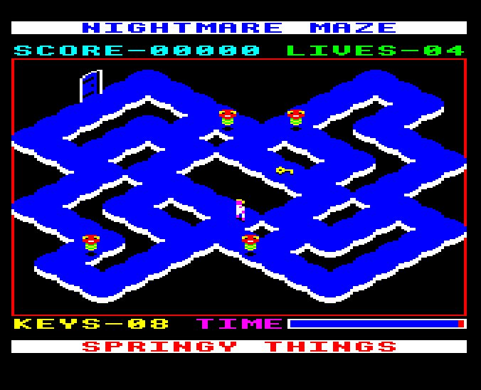 gameimg/screenshots/DiscA03-NightmareMazeReIssue.jpg
