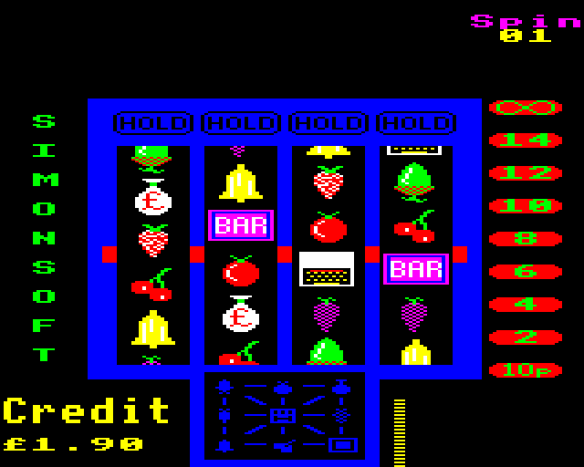 gameimg/screenshots/FruitMachine-Simonsoft.png